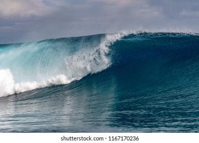Big Surf wave tube detail