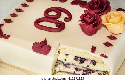 Admirable 60Th Birthday Cake Images Stock Photos Vectors Shutterstock Funny Birthday Cards Online Overcheapnameinfo