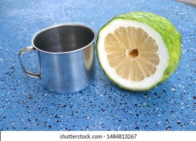 Big Thai lemon is juicy and sour