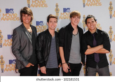 Big Time Rush at the 2010 MTV Movie Awards Arrivals, Gibson Amphitheatre, Universal City, CA. 06-06-10