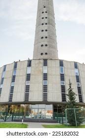 big tower in Vilnius