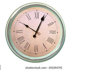 big wall clock