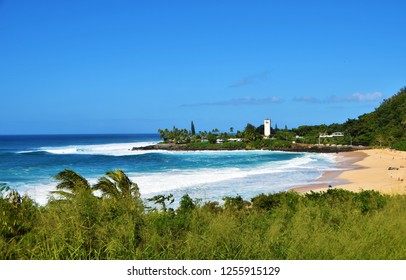 Big Waves  at Waimea Bay, Oahu, Hawaii, USA