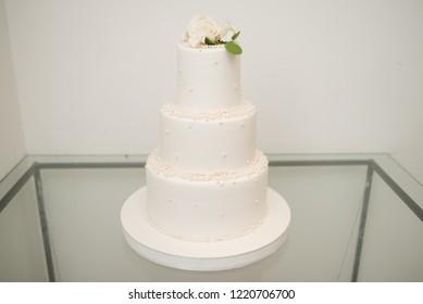 Big wedding cake for celebration