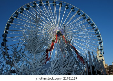 big wheel of the capital of the north in Lille