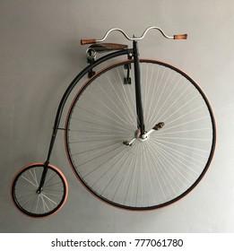 Big Wheel Rear Wheel. Vintage Bicycle.