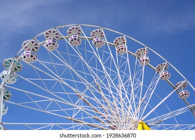 a big wheel in the summer