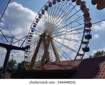 The big Wheel in themepark