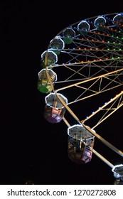 The big wheel at the Winter fair