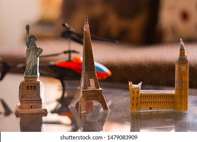 Bigben Eiffel tower statue of liberty Toy