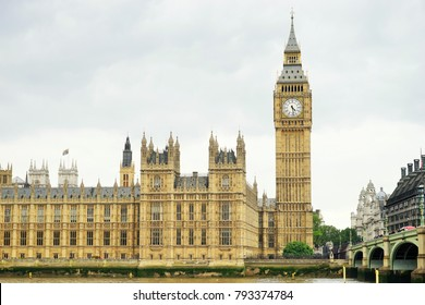Bigben tower on Thame, London UK