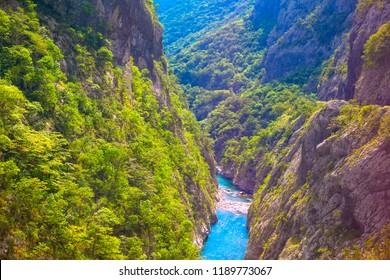 biggest canyon in Europe , scenery of Tara River Canyon
