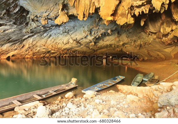 The biggest cave in Laos, Konglor Cave