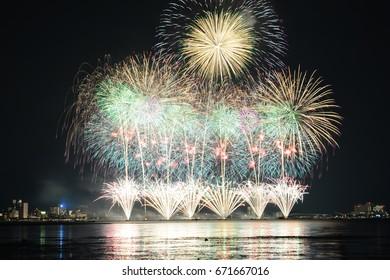 Biggest Fireworks Festival In Japan