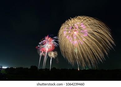 Biggest Fireworks in Japan