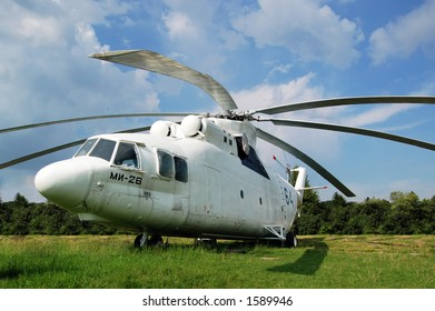 Biggest helicopter in the world, MI26