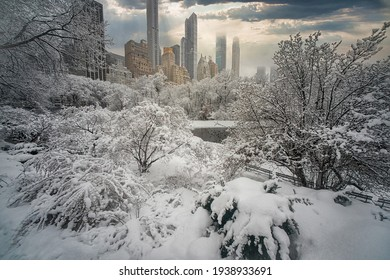 Biggest Snowstorms (One Foot or More) at Central Park (1869 to Present) , Manhattan, New York, United States of America. 02.07.2021