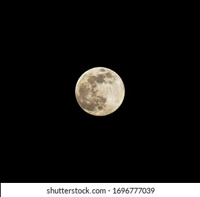 The biggest Supermoon and full Moon of year 2020 on Tuesday, April 7, 2020.
