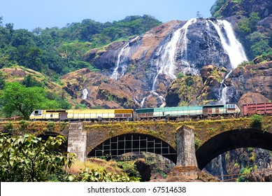 Biggest waterfall in goa. with its scenic beauty attracting thousands of tourists every year.