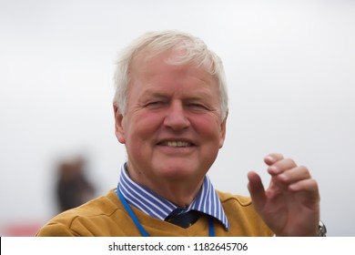 Biggin Hill,UK,August 18th 2018,Colonel Robert Alexander Stewart, DSO is a former British Army officer, former United Nations commander in Bosnia attends Festival of Flight