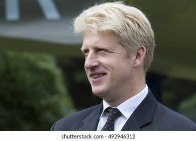 Biggin Hill,UK,September 18,2016,Jo Johnson MP attends a service of commemoration for Battle of Britain Sunday which was held at St George'??s RAF Chapel