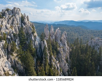Bijele stijene (White Rocks) is a nature reserve in Croatia famous for its amazing topography. Karst rock formations similar to the stone forest (e.g. Shilin, China) with hundreds of rock pillars.