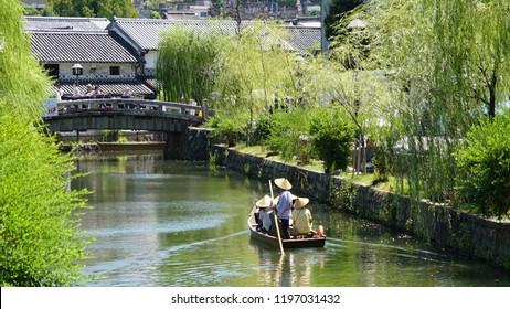 Bikan area, Kurashiki, Okayama, Japan