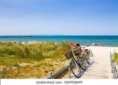 Bike, Beach, Germany