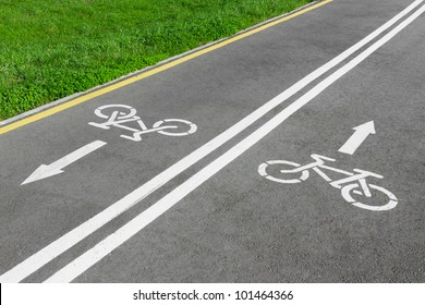 bike lane, road for bicycles