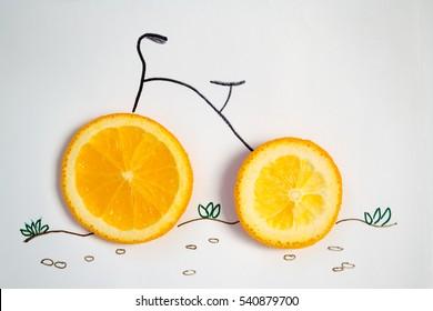Bike lemon nature