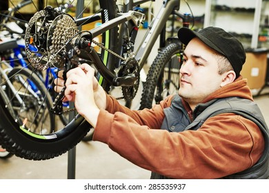 Bike Mechanic Images, Stock Photos & Vectors | Shutterstock