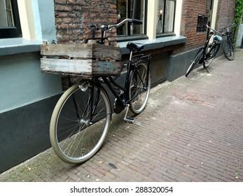 Bike in old street