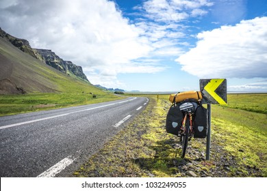 Bike packing in Iceland