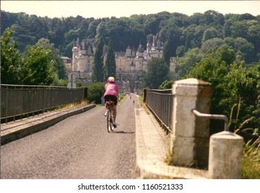 Bike Path to Chateau d'Usse Loire Valley France