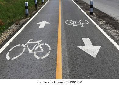 bike path, bike lane