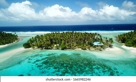 Bikendrik island resort in Majuro, Marshall islands
