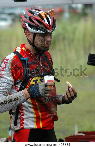 biker refreshment