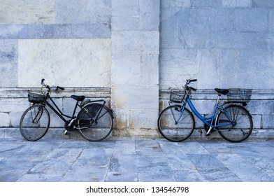 Bikes at the Church