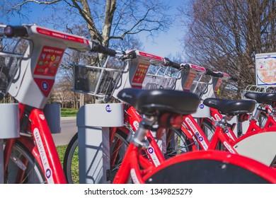 bikes, the new way to travel around cities.
