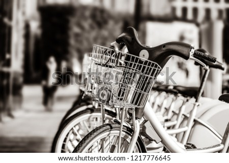 Bikes for rent in