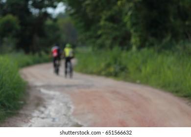 biking tour in nature mountain bike