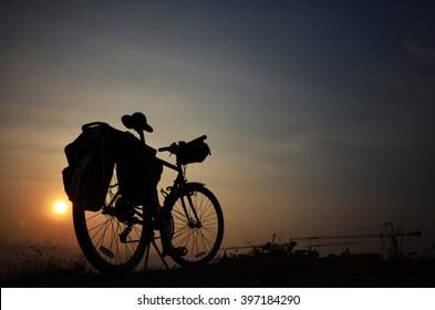 Biking to the world