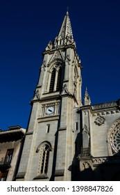 Bilbao Cathedral (Catedral de Santiago de Bilbao) a Roman Catholic church in the city of Bilbao, Spain