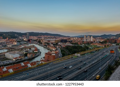 Bilbao from Kobetamendi, Basque Country, Spain
