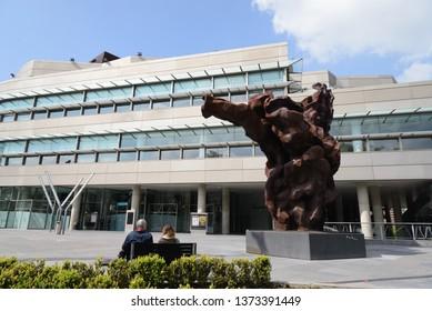 Bilbao, Spain; 04 12 2019; Euskalduna Conference Centre:  EUSKALDUNA COMPLEX IS IN THE VERY HEART OF THE CITY, JUST A FEW MINUTES FROM BILBAO'S INTERNATIONAL AIRPORT, Bilbao, Spain