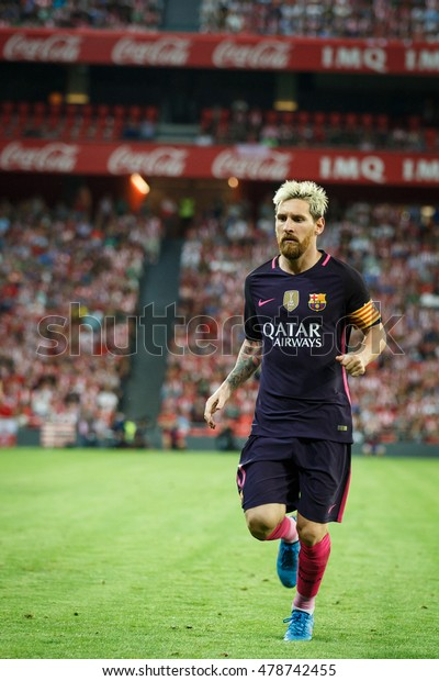 Bilbao Spain August 28 Lionel Messi Stock Photo (Edit Now