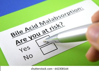 Bile acid malabsorption:are you at risk? Yes or no