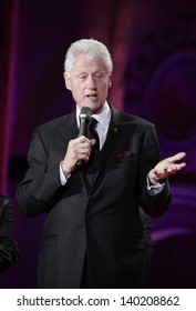 Bill Clinton on stage during the Life Ball 2013 held in Vienna, Austria. 25/05/2013