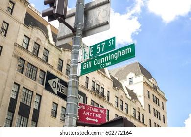 Bill Cunningham Corner nyc