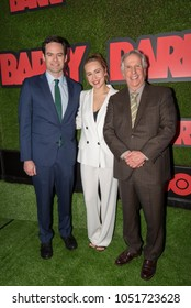 """Bill Hader, Sarah Goldberg, Henry Winkler attends Premiere Of HBO """"Barry"""" at the Neuehouse, Hollywood, CA on March 21, 2018"""